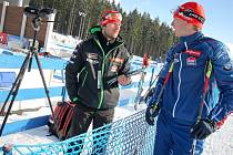 Ondřej Rybář (vpravo) se se Zdeňkem Vítkem dlouho rozhodovali o dnešní nominaci.