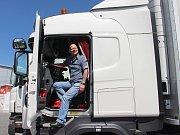 Řidič kamionu.