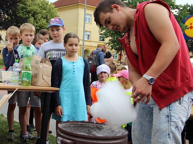 Pomocí solární energie vyráběli studenti popcorn i cukrovou vatu