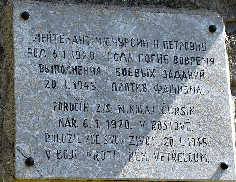 Pamětní deska ve Víru připomíná atentát na Valentina Ehma.