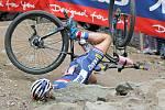 Bikerské závody ve Vysočina areně bývají divácky velmi oblíbené.
