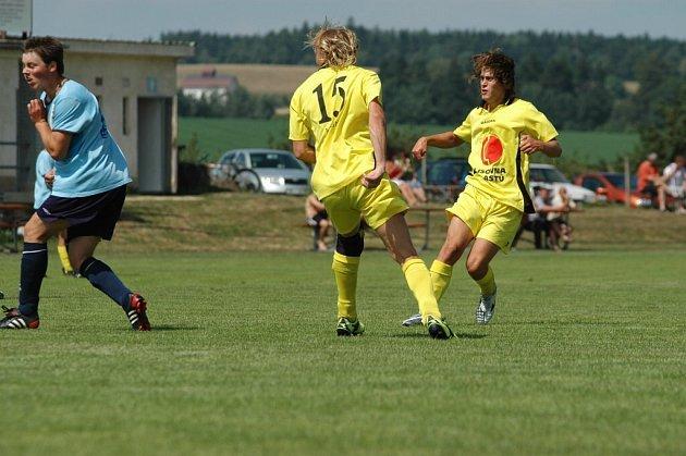 Měřín dostal od Jakubova pět gólů.