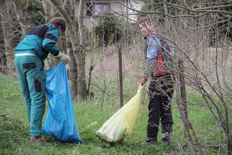 Akce Čistá Vysočina. Ilustrační foto