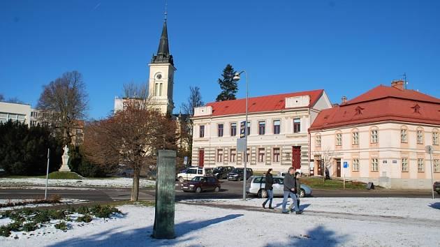 Komenského náměstí v Novém Městě na Moravě se dočká opravy.