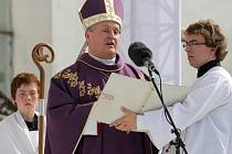 Jan Vokál. Královéhradecký biskup Jan Vokál se v sobotu 8. července zúčastní ve Svratce slavnostní mše.
