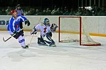 Z druhého finálového utkání mezi Žďárem a Světlou