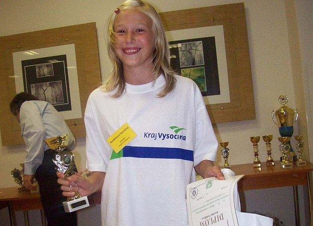 Karolína Nedělková  zvítězila na mezinárodní chovatelské soutěži vkategorii holubi.