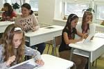 Otevření digitální třídy žďárského gymnázia.