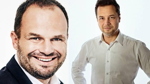 Lidovec Josef Klement (vpravo) se v druhém kole utká se sociálním demokratem Michalem Šmardou.