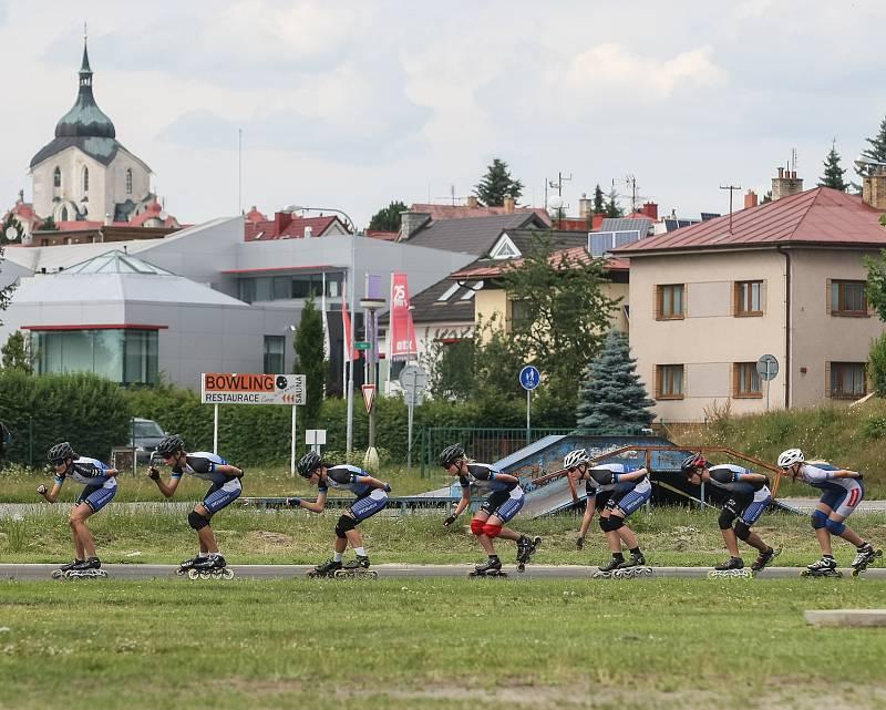 Rychlobruslařský ovál ve Žďáře nad Sázavou, ilustrační foto.
