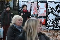 Na třech místech v Novém Městě na Moravě jsou rozmístěny panely připomínající příběhy válečných hrdinů i politických vězňů.