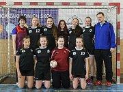 Tato děvčata reprezentovala ZŠ a MŠ Nové Veselí na republikovém finále SLZŠ.