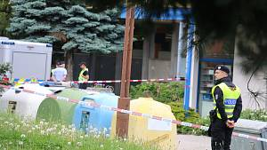 Policisté obsadili a uzavřeli centrum Žďáru
