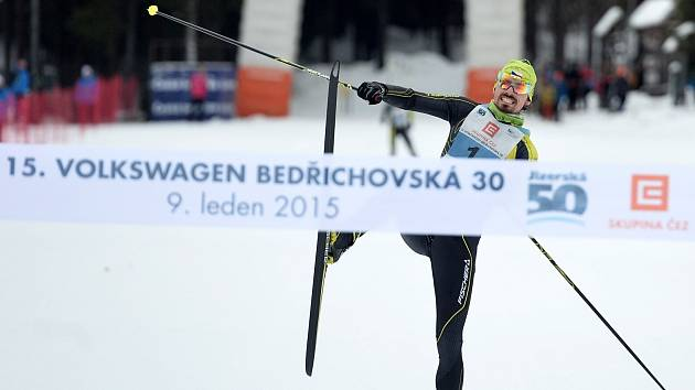 Jiří Ročárek dokázal naplnit svůj cíl a vyhrál před hlavním závodem Jizerské padesátky téměř vše, co se dalo.