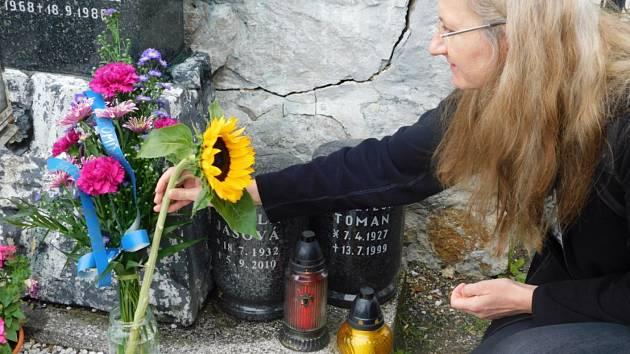 Skauti uctili památku Božetěcha Tomana. Zemřel tak, jak si vysnil