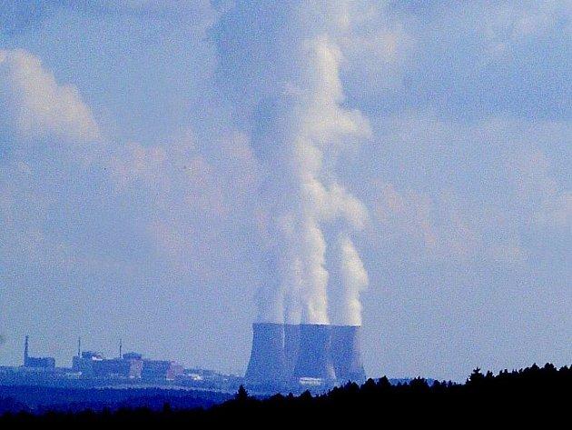 Jaderná elektrárna, ilustrační foto.