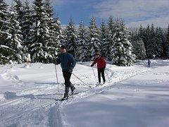 NOVINKY. Vyznavači běžeckého lyžování se na Žďársku v zimní sezoně dočkají desítek nových upravených úseků.