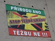 Stanovisko obyvatel Brzkova k zamýšlené těžbě uranu.