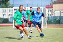 Žďárská liga malé kopané pokračovala poslední zářijovou sobotu svým čtvrtým kolem letošního ročníku.