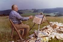 Novoměstský rodák se nakonec usadil v Rokytně, kde si otevřel vlastní ateliér a věnoval se výhradně své největší lásce malování. Za inspirací jezdil do okolí Nového Města, ke Sněžnému, k Blatinám, do Křižánek a na další místa.