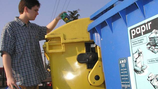 Na Vysočině se v posledních letech vytřídilo asi 16 procent komunálních odpadů.