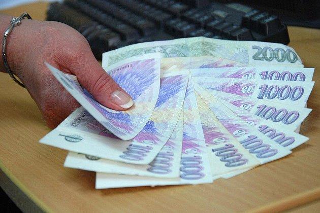 Pracovník ostrahy našel peněženku plnou peněz.