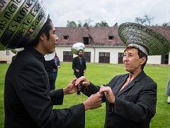 Generální zkouška slavnostního zahájení Mezinárodního festivalu současného tance a pohybového divadla KoresponDance.