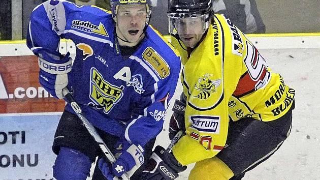 Hokejisté Velkého Meziříčí se rozloučili se základní částí krajského přeboru výhrou 5:3.