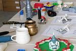 Modely z 3D tiskárny.