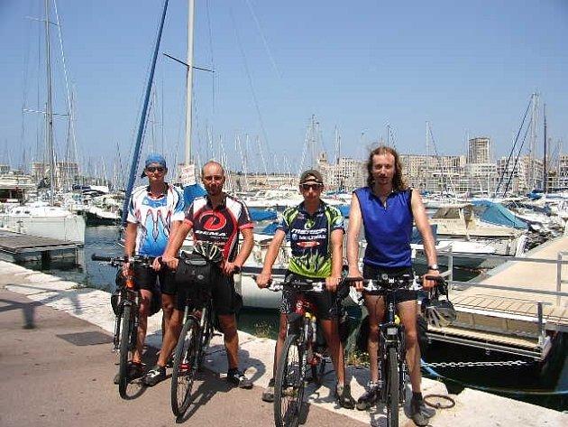 V přístavu v Marseille.