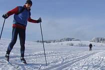 Sobotní lyžování na Novoměstsku.