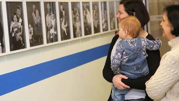 Generaci dětí a prarodičů propojuje netradiční výstava, která vznikla ve spolupráci žďárského Senior a Family Pointu a fotografa Milana Šustra.