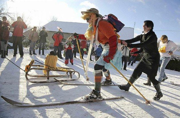 Silvestr na lyžích v Polničce