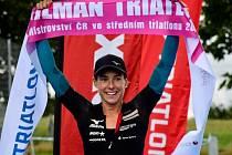 Na letošním ročníku Pilman Triatlonu v okolí Pilské nádrže u Žďáru nad Sázavou triumfovali Matěj Burian a Simona Křivánková.