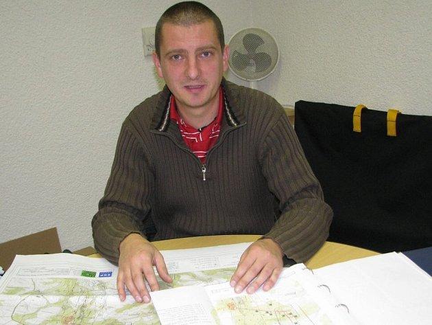 Jednatel občanského sdružení Nechceme úložiště Kraví hora Martin Schenk.