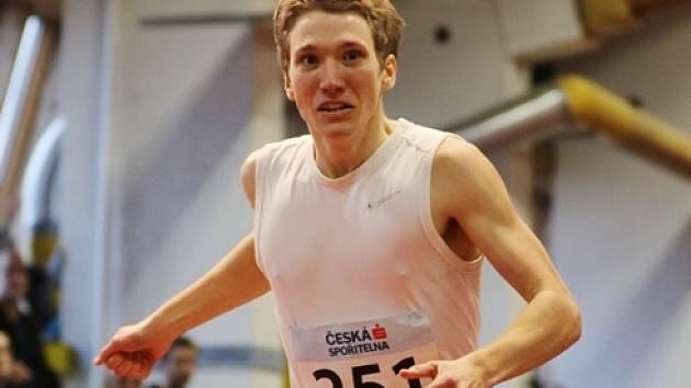 Nejvíc loňských medailí posbíral běžec Petr Vitner v hale.