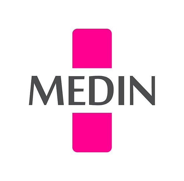 Novoměstský Medin s novým firemním logem.