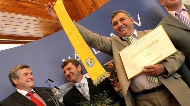 V Jamách se radují z titulu vesnice vysočiny 2013.