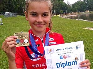 V úvodu nové sezony brala Kateřina Mičková (na snímku) hned třikrát zlato.