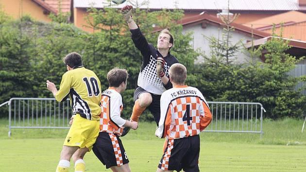 Křižanovským fotbalistům se sezona nepodařila podle představ a po dvou letech opouští I. A třídu – skupinu B.  á
