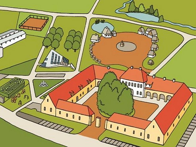 Eden, středisko šetrného cestovního ruchu, poznání a vzdělávání, vzniklo ve spolupráci bystřické radnice, tamní střední zemědělské školy a organizace ECEAT.