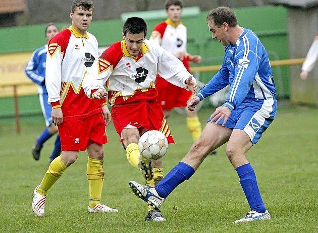Fotbalisté Velké Bíteše překvapivě ve dvou venkovních zápasech bodovali naplno.