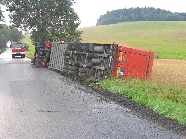 Nehoda u Olešné