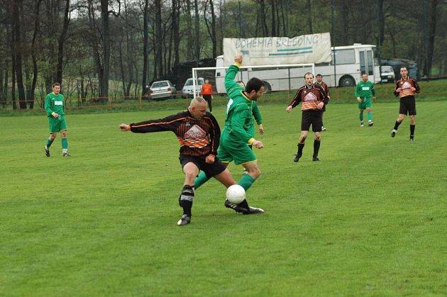 Na nekoncentrovanost zkraje utkání doplatili hráči rezervního týmu Vrchoviny, kteří dostali gól po dvaceti vteřinách hry.