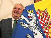 Prezident Miloš Zeman při návštěvě Vysočiny.