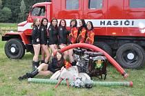Hasičky z Ořechova-Ronova se staly modelkami pro kalendář Hasičky 2013, aby propagovaly svůj oblíbený hasičský sport a podpořily domovský hasičský sbor.
