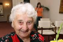 Jubilantka Marie Cahová