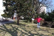 V Novém Městě se připravuje instalace sochy Jan Hus od Jana Štursy. Umístěna by měla být v zahradě evangelického kostela (na snímku) u příležitosti 600 let od úmrtí tohoto slavného kazatele.
