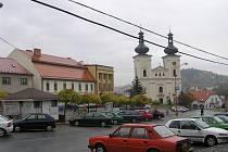 Náměstí v Bystřici nad Pernštejnem