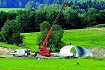 Téměř sto milionů korun musel vyčlenit kraj Vysočina na výstavbu obchvatu Bohdalova.